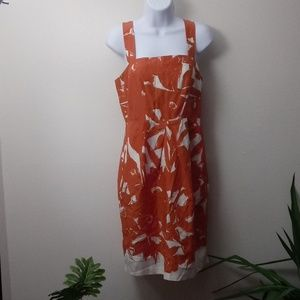 Women's Banana Republican Silk Sun Dress